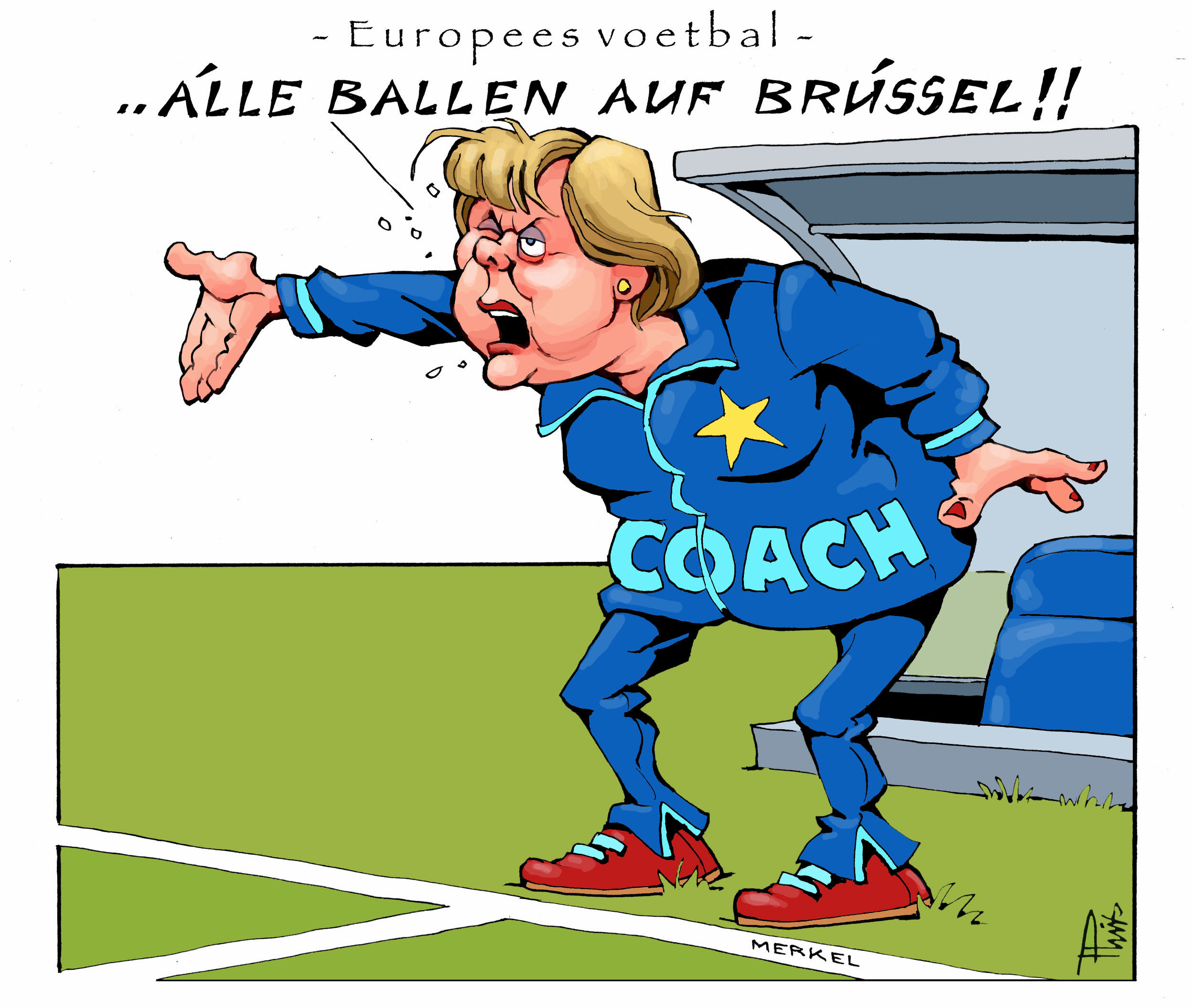cartoon EuropeesVoetbal  kopie