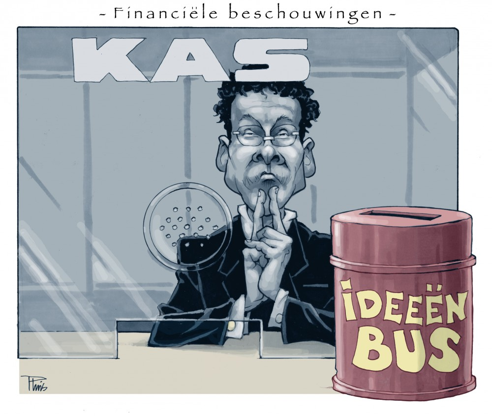 cartoon Financiele Beschouwingen
